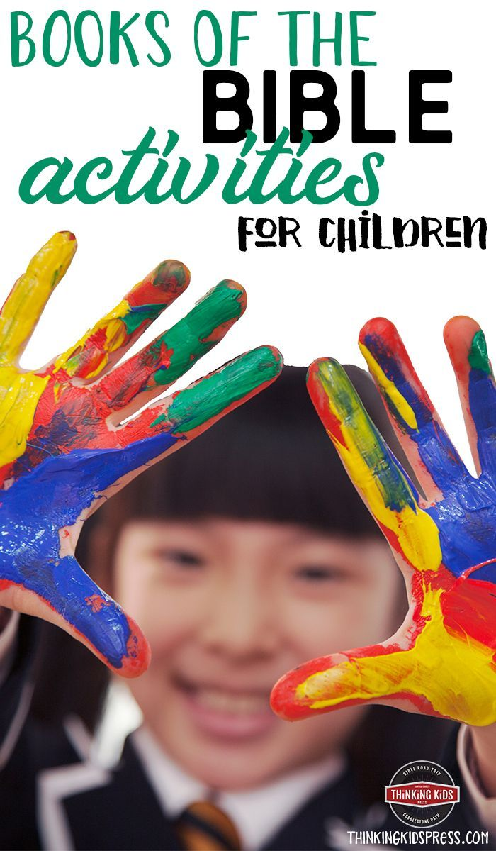 Books of the Bible Activities for Children – Thinking Kids