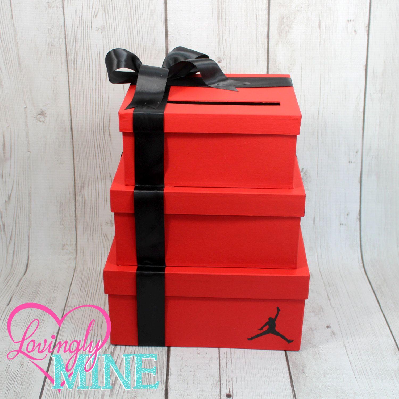 Jordan Jumpman Baby Shower Inspired Cardbox