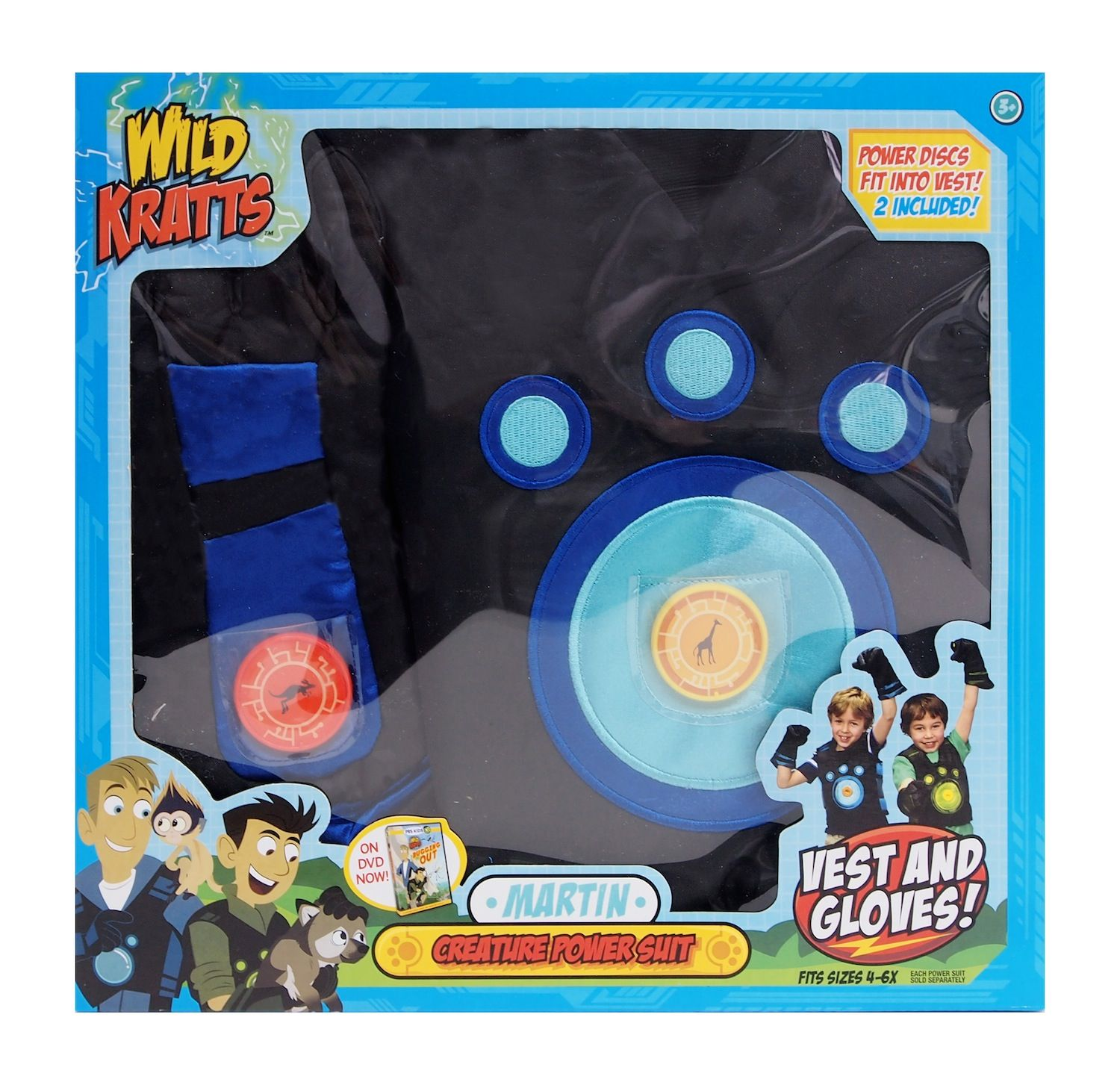 The Official Pbs Kids Shop Wild Kratts Blue Creature