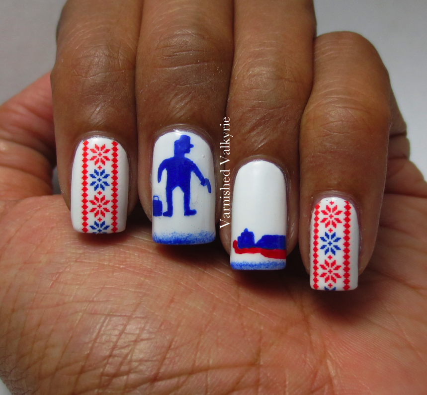 Varnished Valkyrie: Christmas in July/Fargo(FX) Nails | Nails ...