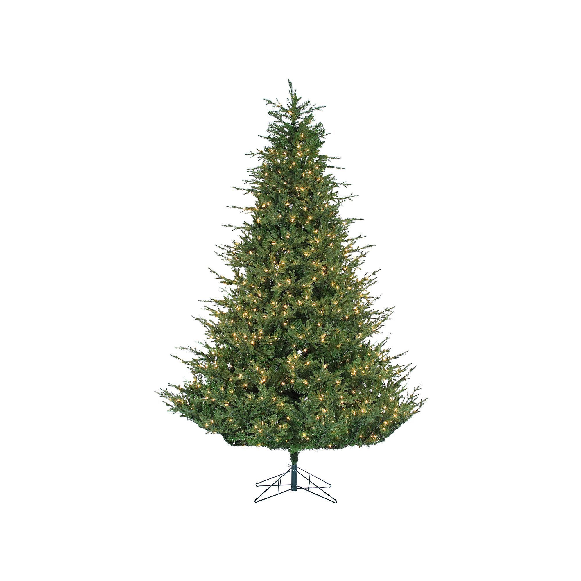 sterling 9 natural cut upswept chesterfield spruce artificial christmas tree - Sterling Christmas Trees