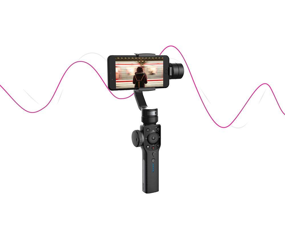Capacidad de Zoom y Atracción Focus ZhiYun Smooth 4