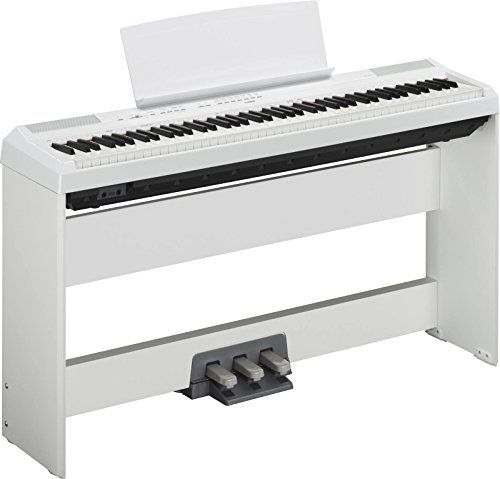 Pianos numériques YAMAHA P115 BLANC + STAND + PEDALIER Pianos numériques portables u2013 Amazon Pianos   sc 1 st  Pinterest & Pianos numériques YAMAHA P115 BLANC + STAND + PEDALIER Pianos ...