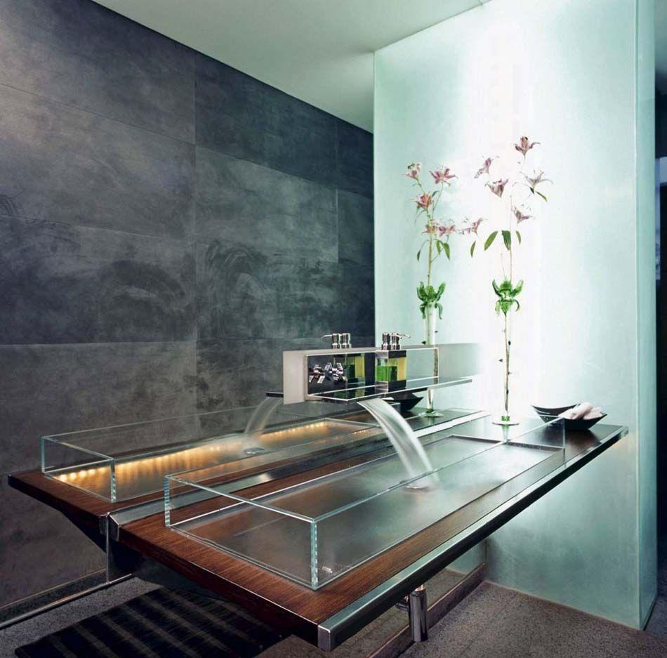 Salle de bain moderne & tendance inspirée par le design minimaliste ...