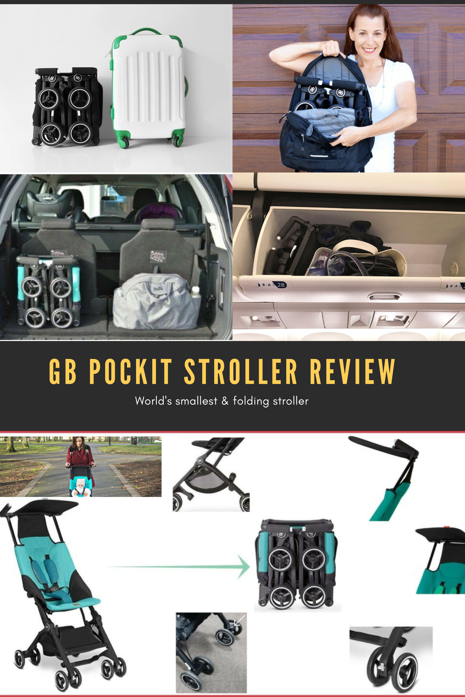 GB Pockit Stroller Review Best lightweight stroller
