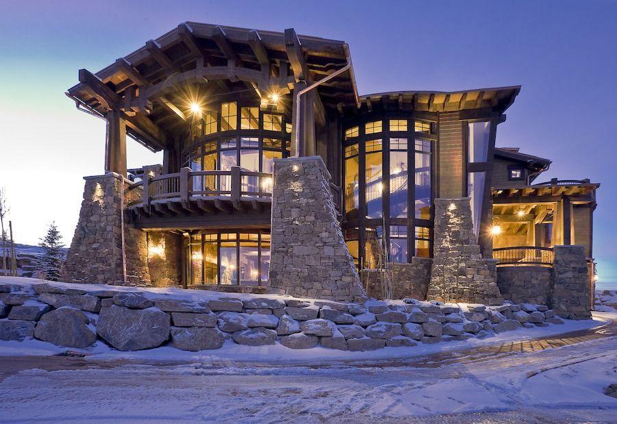 Ski Magazine Dream Home 21 900 000 See More Photos And The Price Of This Mansion Http Mansi Planos De Casas Mediterraneas Casas De Ensueno Casas De Lujo