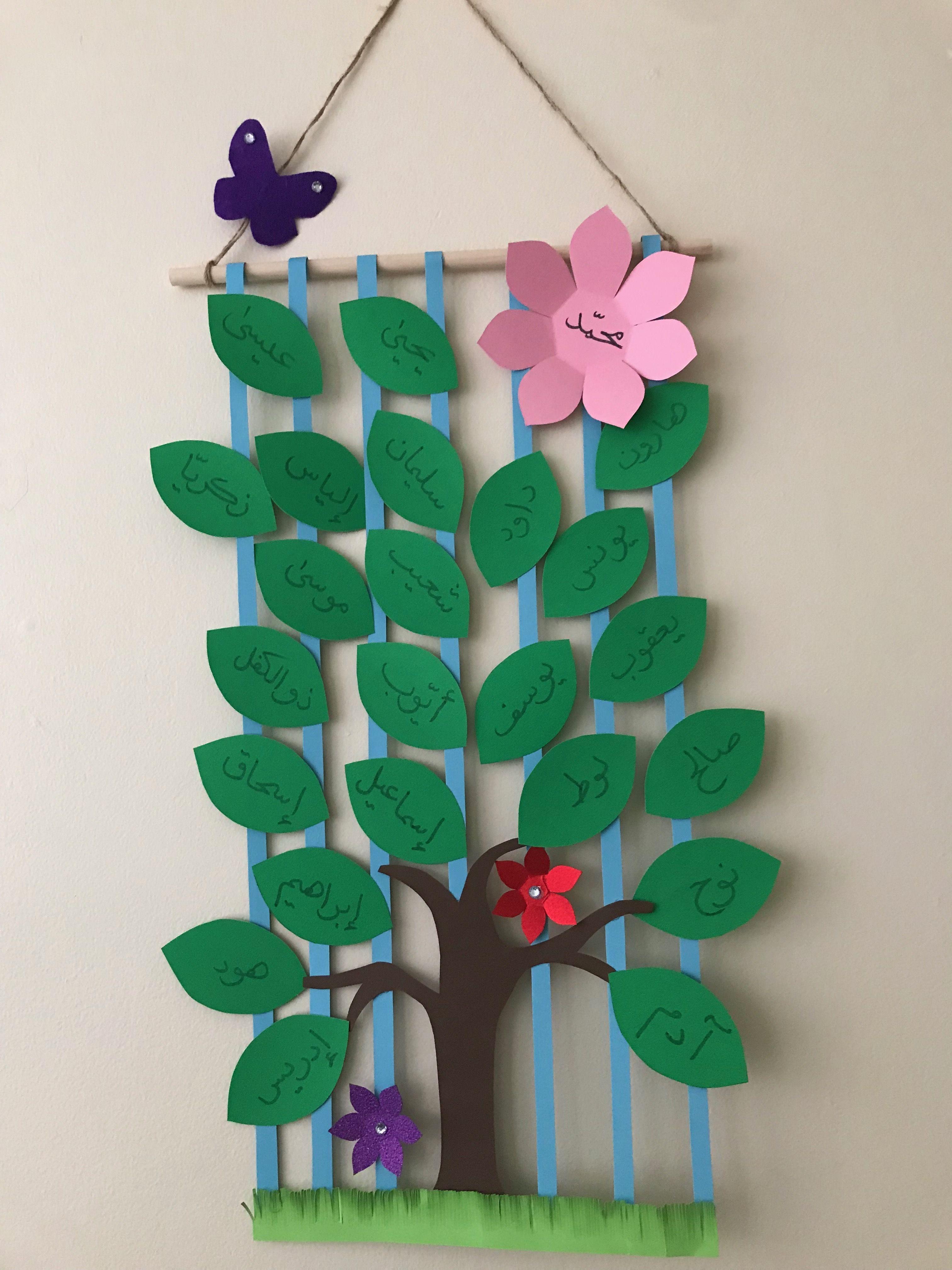 شجرة الأنبياء Baby Mobile Preschool Sewing