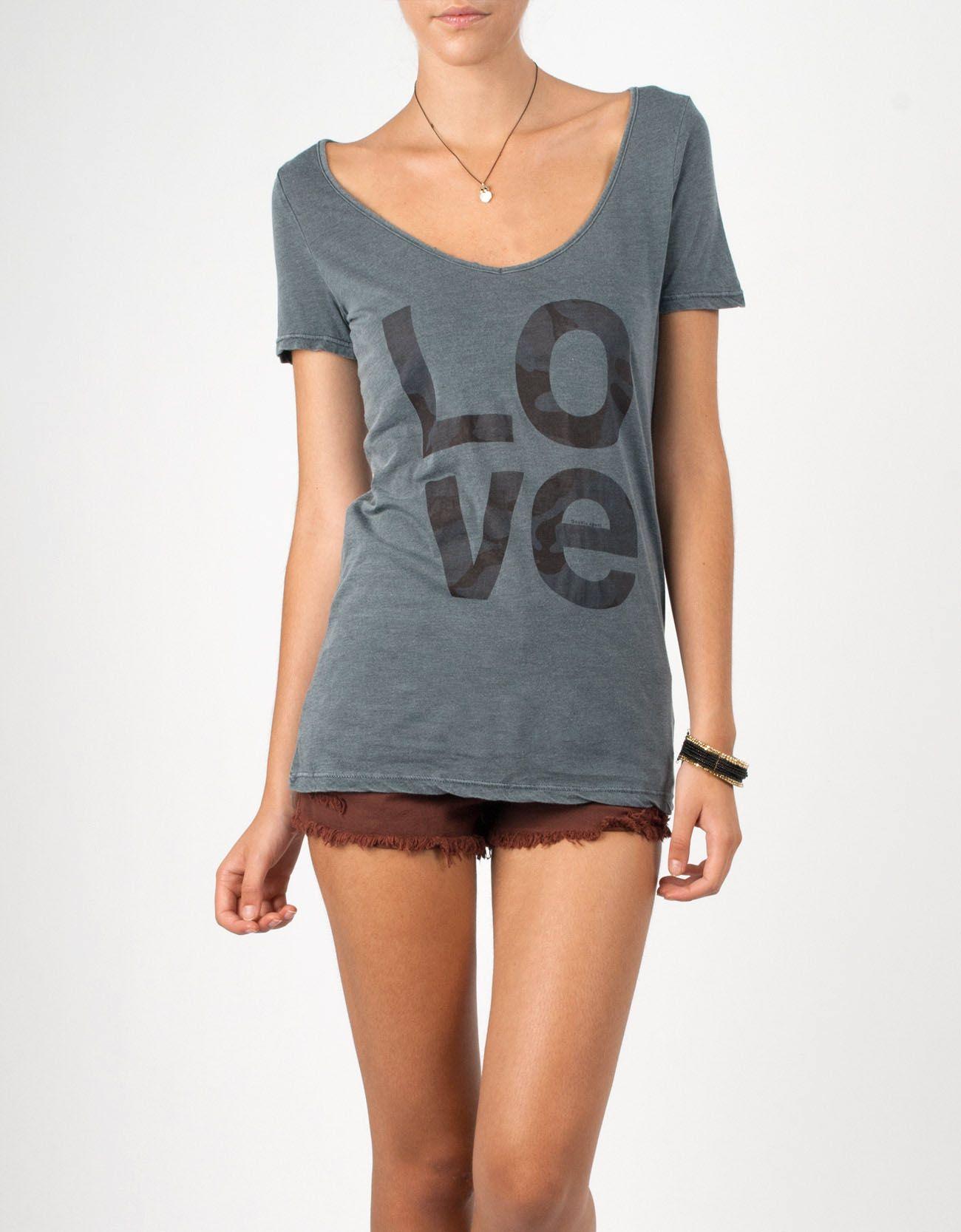 #Camiseta Double Agent #Love en gris por 16€ en www.doubleagent.es #fashion #tshirt