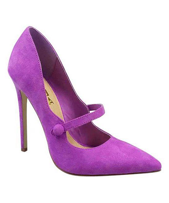 3b742671b33f Purple Zoya Pump