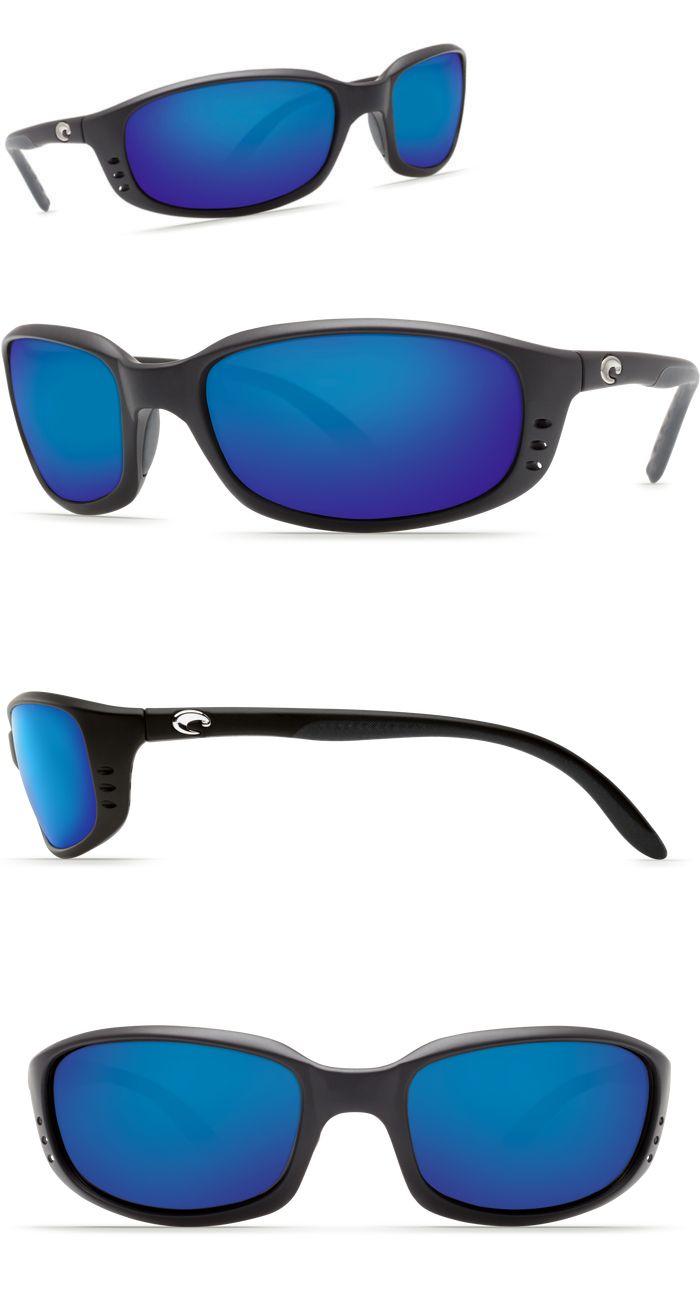 dee90de0734 Sunglasses 79720  New Costa Del Mar Brine Black 580 Blue Mirror Glass 580G  Br11obmglp -