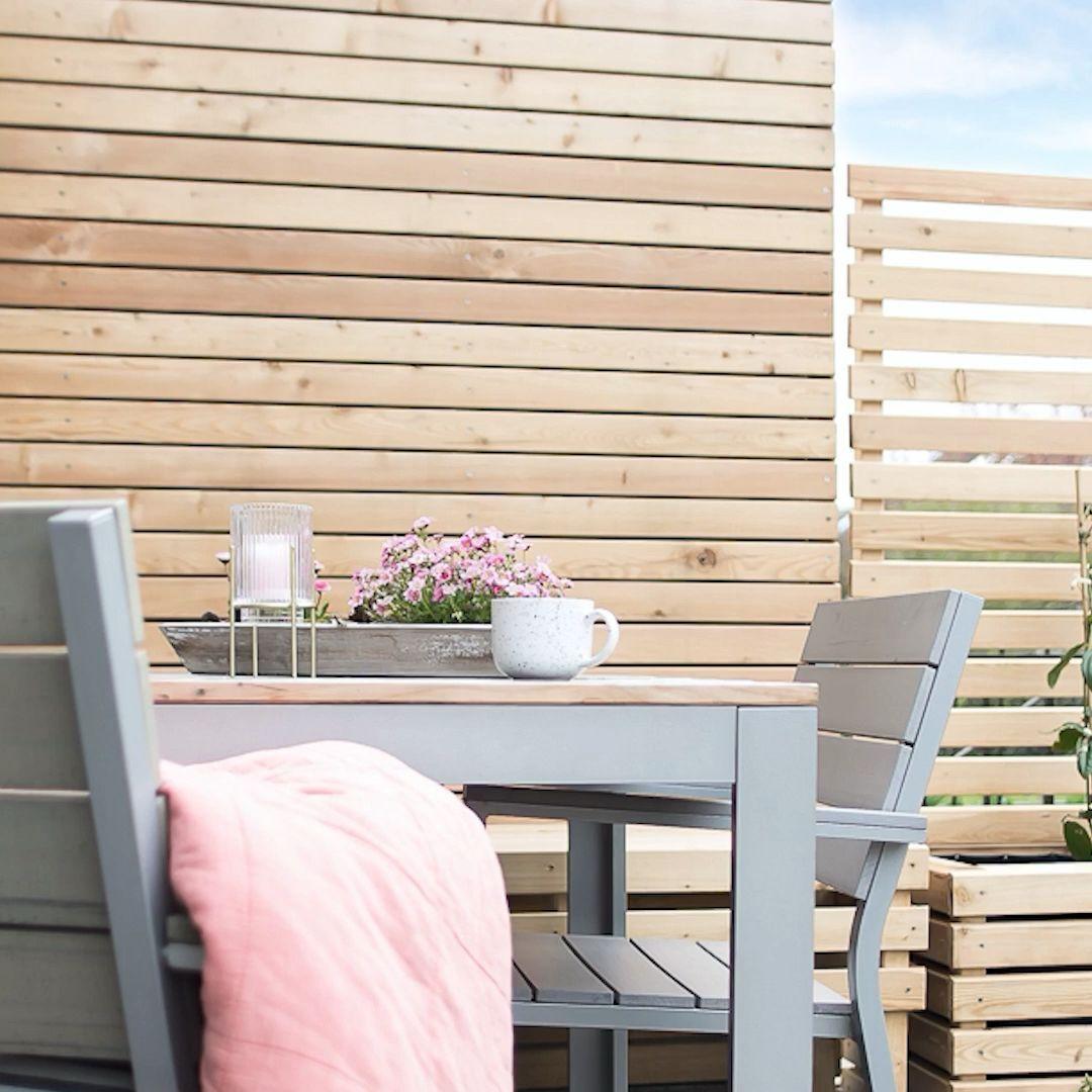 Sichtschutz Garten In 2020 Sichtschutz Selber Bauen Rankhilfe