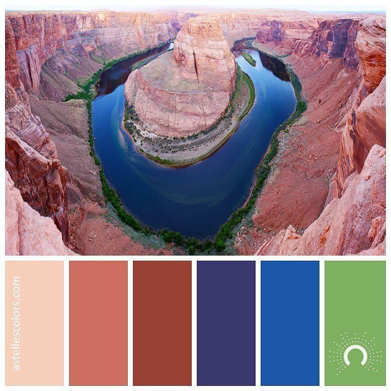 Color inspiration [ horseshoe bend ] Kristy Kravchenko