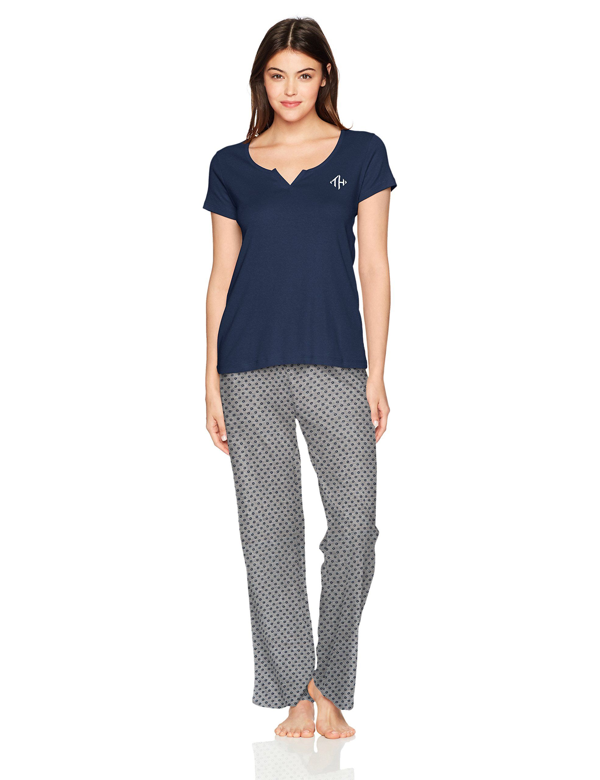 3db72ebf8c Tommy Hilfiger Womens S s Tee With Logo Pant Peacoat School Foulard Navy L      Be sure to check out this awesome product. (This is an affiliate link)    ...