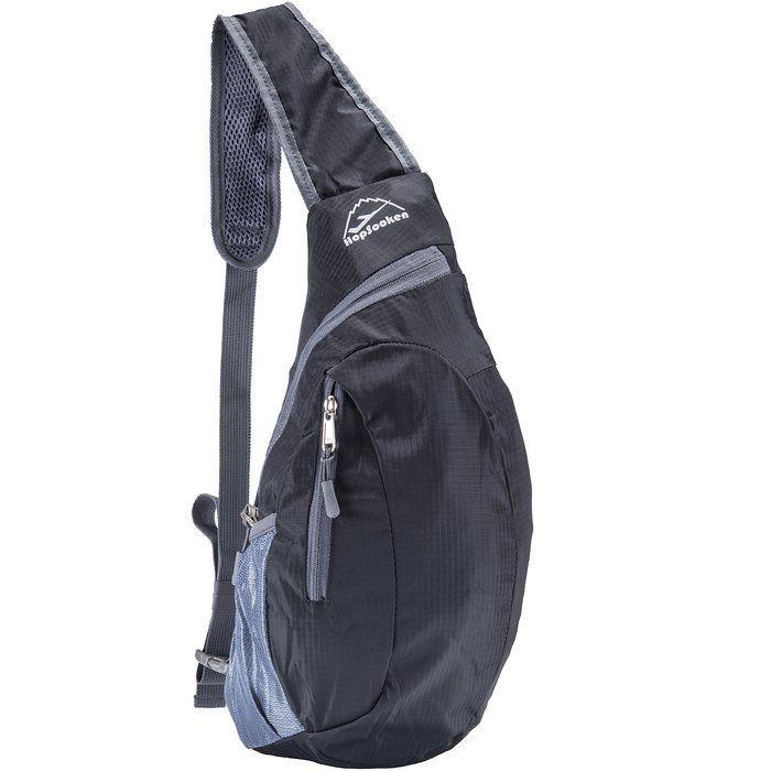 0270c511eb Hopsooken Travel Lightweight Shoulder Backpack Packable Sling Chest  CrossBody Bag Hiking Waterproof Sport Bicycle Camping School Backpack for  Men   Women
