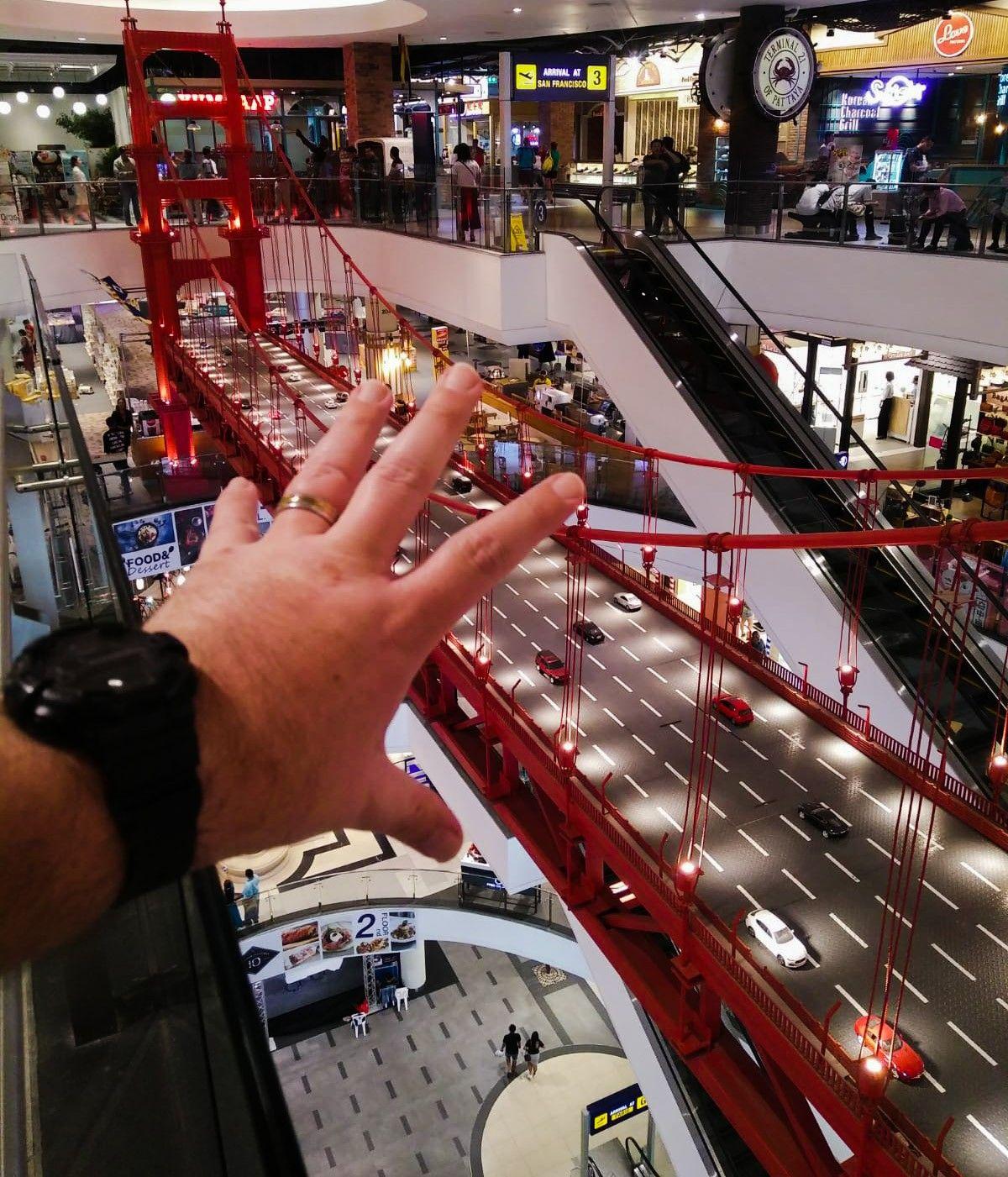 Shopping at Terminal 21 in Pattaya. terminal21 mall