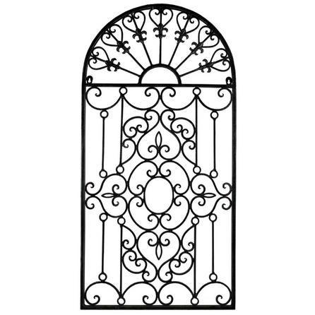 Metal Gate Wall Art Dunelm Metal Gates Design Iron Wall Decor Stained Glass Door