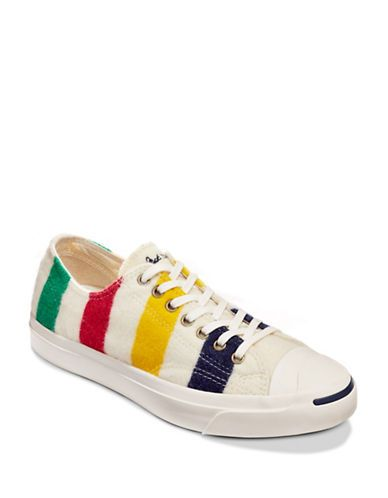 10be506e6 Jack Purcell and Converse for Hudson s Bay Company low-top point blanket  shoe