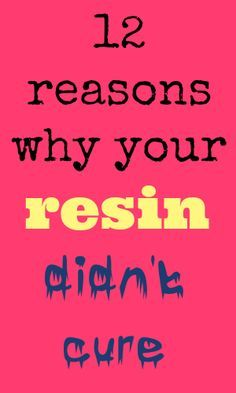 Photo of Resin didn't cure – 12 reasons why your resin isn't curing – Resin Obsession