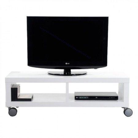 Flatscreen Audio Tv Meubel Design.Hoogglans Verrijdbaar Tv Meubel Giani Fiore Meubels Pa