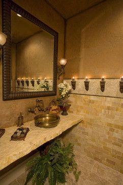 Elegant bathrooms in the Texas Hill Country by Stadler Custom Homes - mediterranean - bathroom - other metro - Stadler Custom Homes