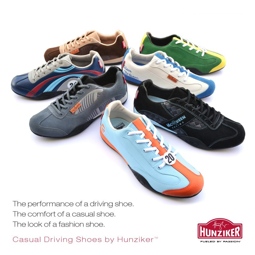 The Hunziker Casual Driving Shoe Collection Is Here Find The