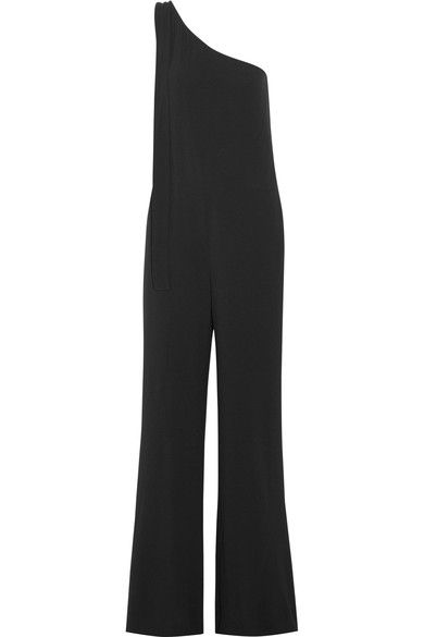 cd01c3f3e00b THEORY Eilidh One-Shoulder Crepe Jumpsuit.  theory  cloth  jumpsuits ...