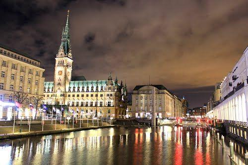 Hamburg Sightsmap
