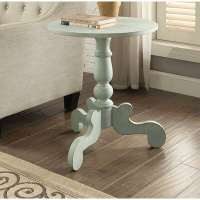 Ophelia Co Jansen End Table Table Top Color Antique Green