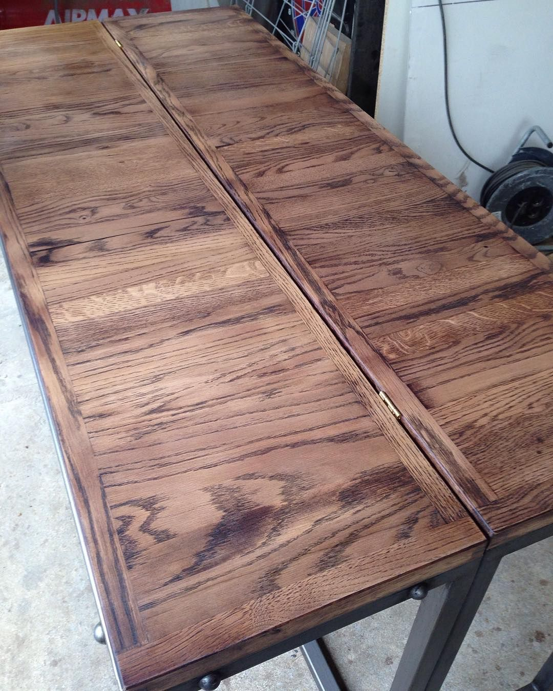 Table pliante Atelier Byron wood woodwork woodworking