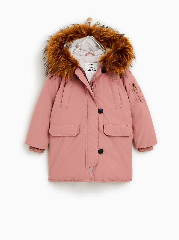 d26ec6fa3614 Sorona® hooded puffer jacket