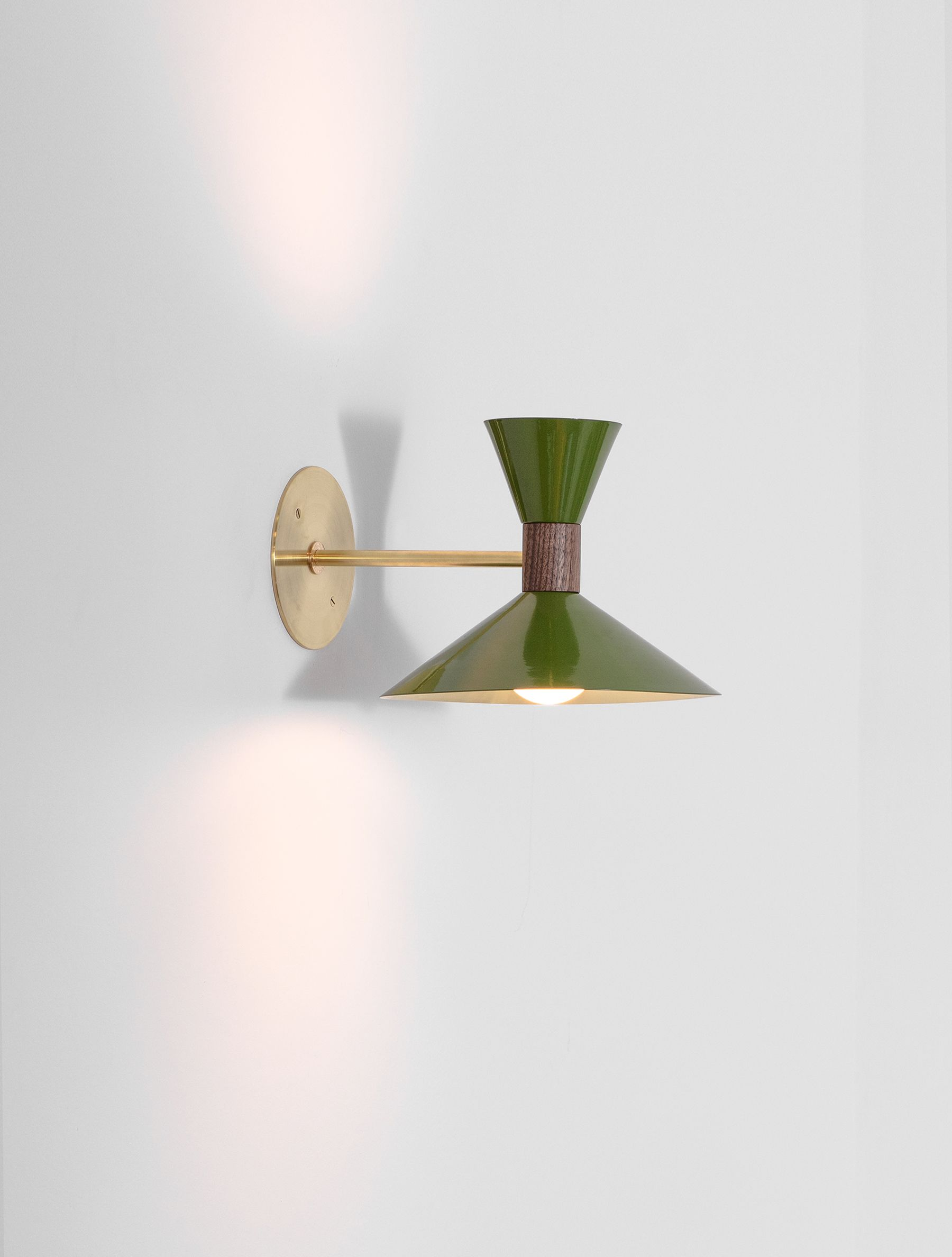 Dual Cone Sconce Wall Sconces Wall Sconce Lighting Sconces