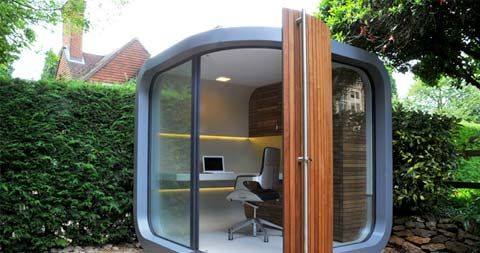 Love This Tiny Prefab Studio You Could Put In The Backyard For A