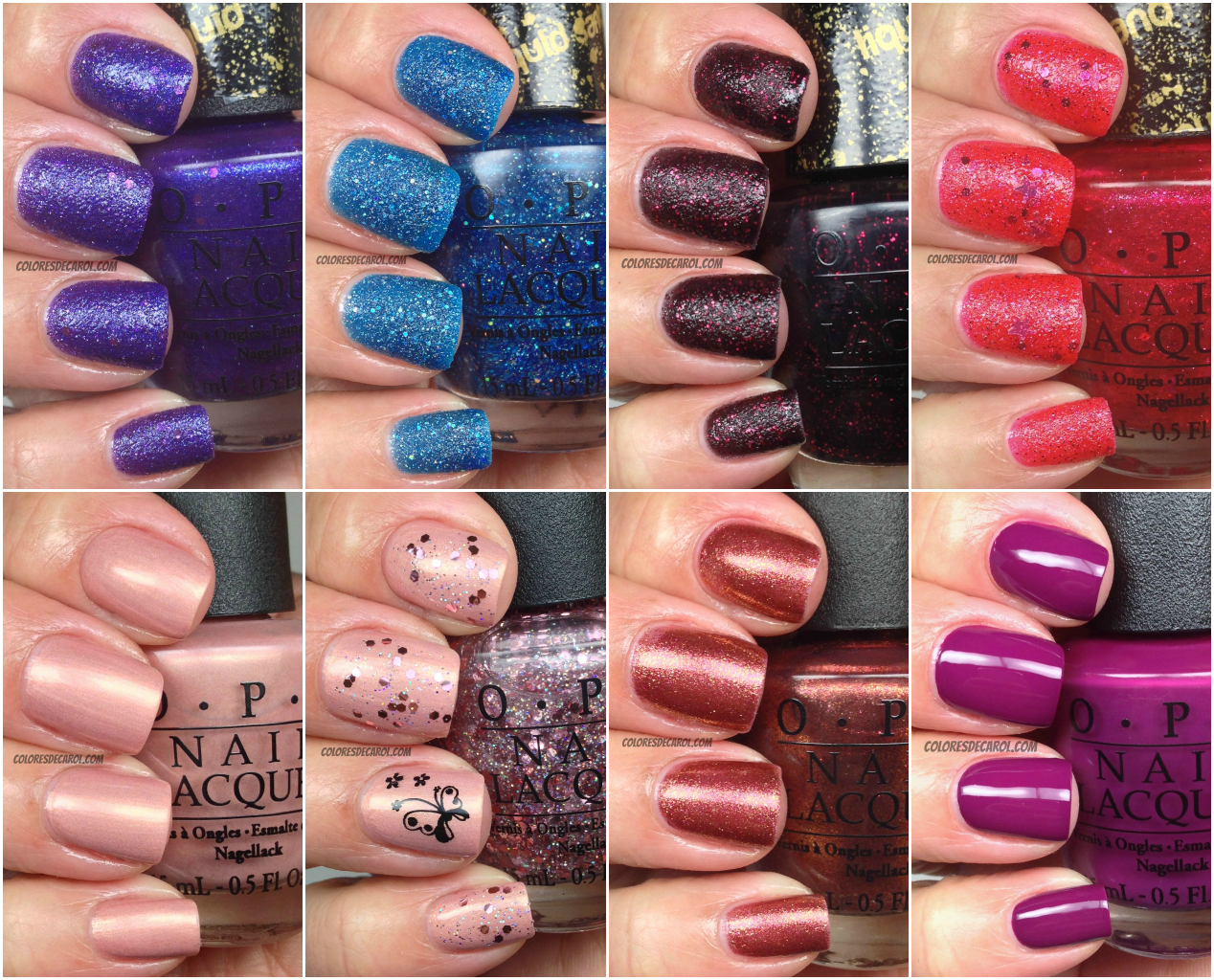 OPI Mariah Carey\'s Collection The liquid sands | Christmas list ...