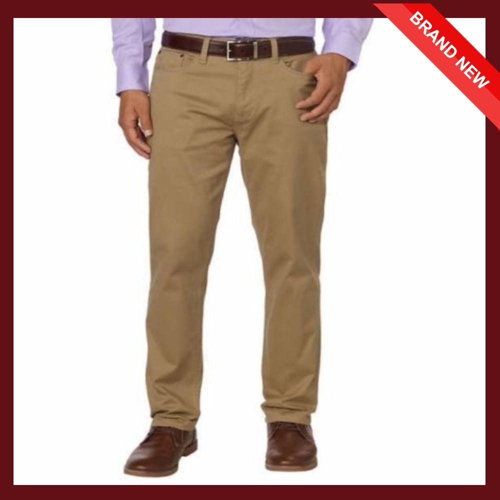 English Laundry Men S 5 Pocket Straight Leg Pant 32wx30l Birch