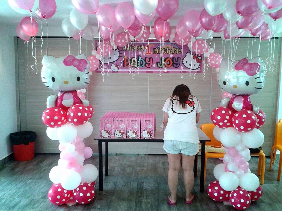 Pin By Kristy Wong On Party Time Hello Kitty Theme Party Hello Kitty Birthday Hello Kitty Birthday Party