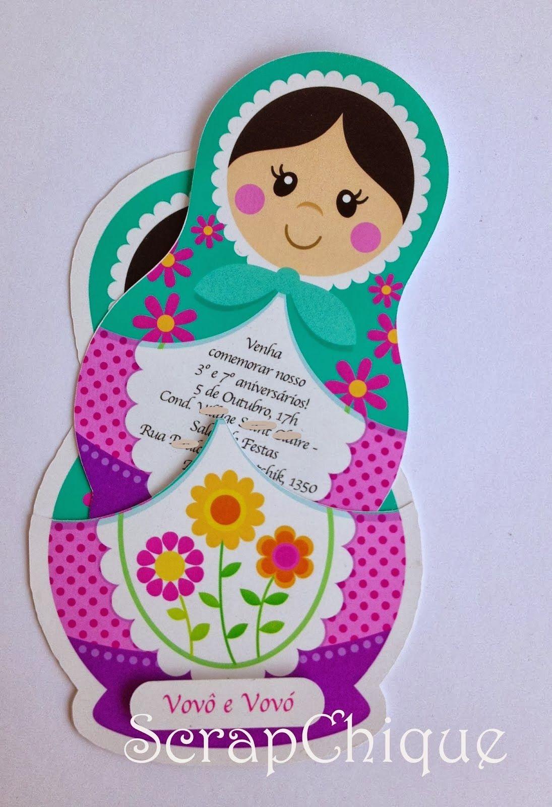 Tema Matrioska   rusia   Pinterest   Dolls, Doll party and ...