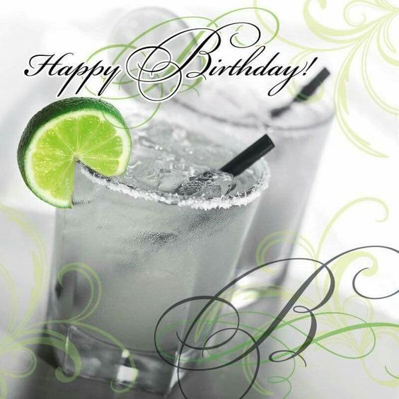 Happy Birthday Cocktail W Lime O K For Man Happy Birthday Greetings Happy Birthday Man Happy Birthday