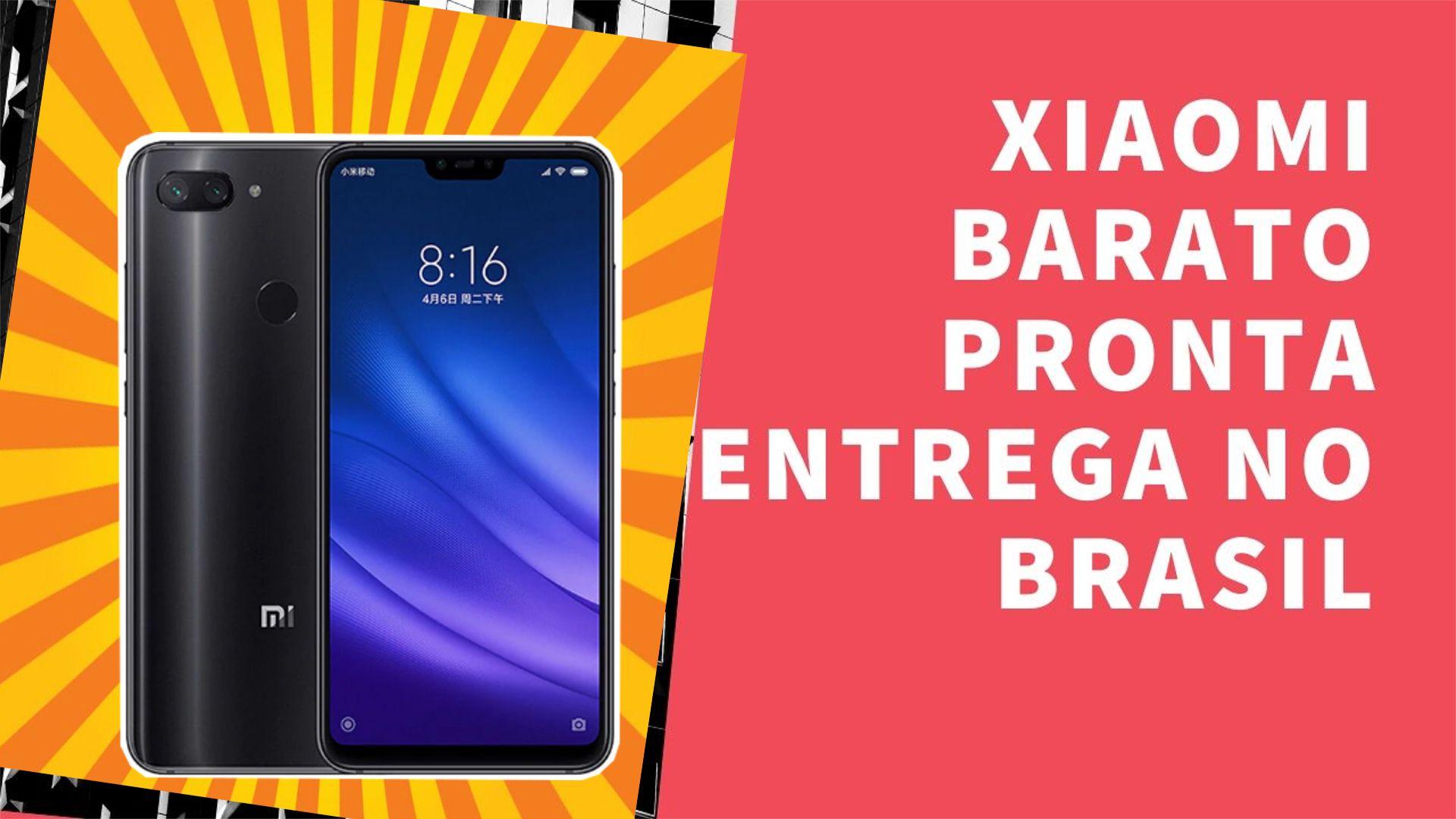 Xiaomi Mi8 Barato Com Pronta Entrega No Brasil Comprar Celular Celular Brasil