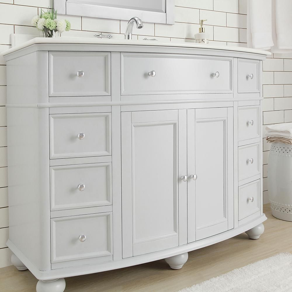 Best Home Decorators Collection Hampton Harbor 45 In Vanity In 640 x 480