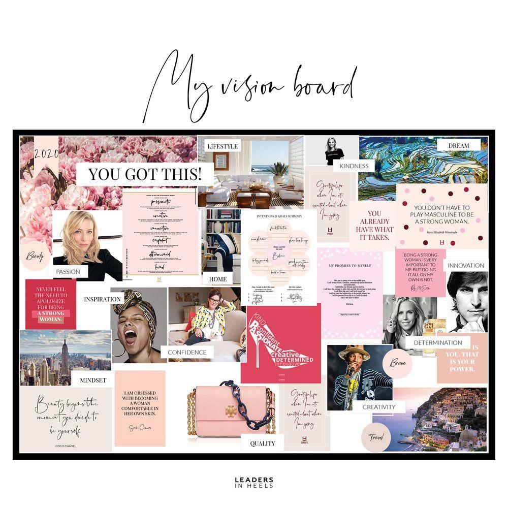 Vision Board Kit – Phenomenal Woman (downloadable)