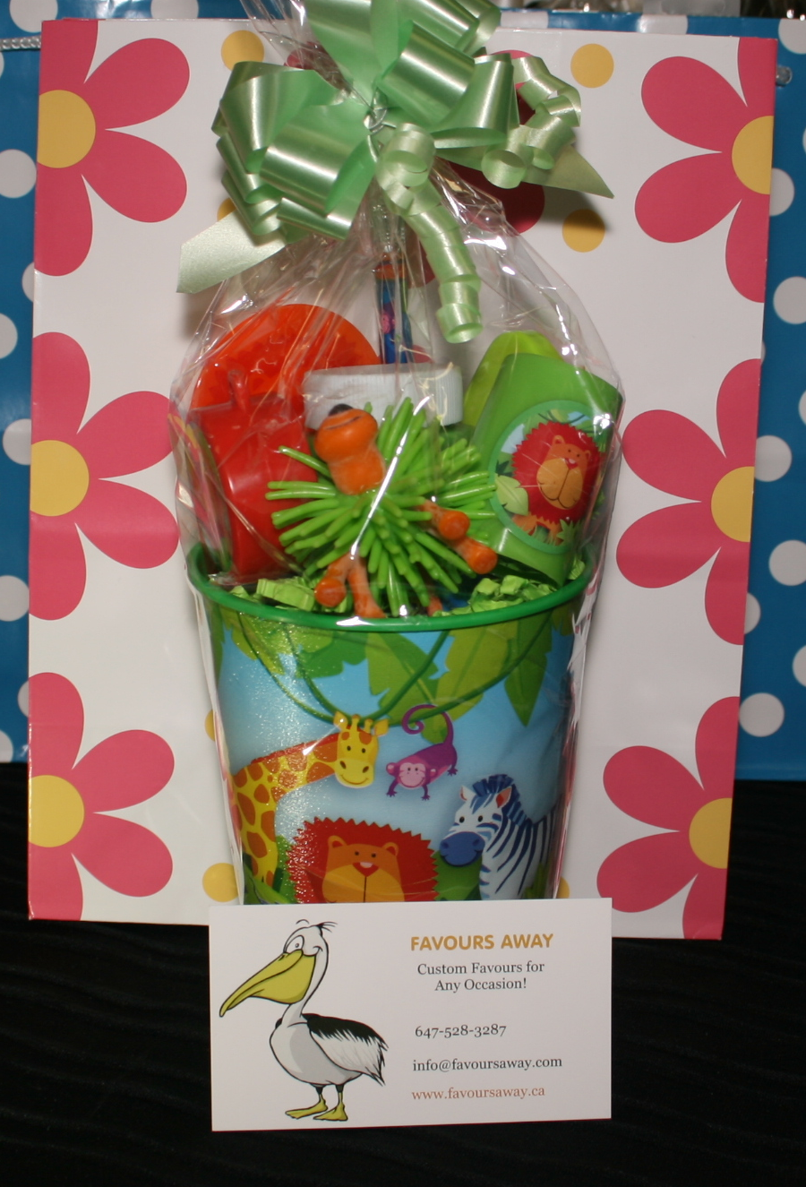 Jungle Animals #lootbags by #Favours Away.