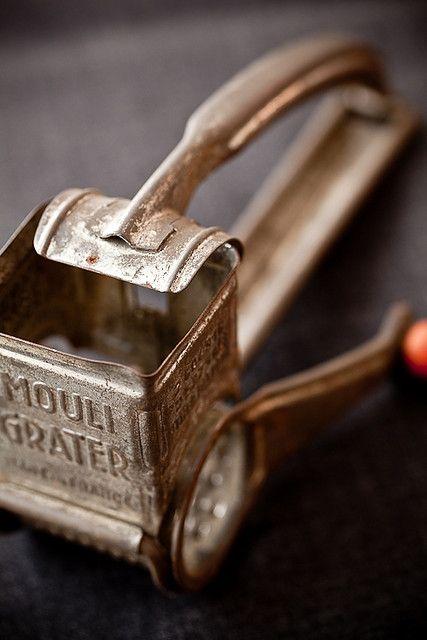 Vintage cheese grinder