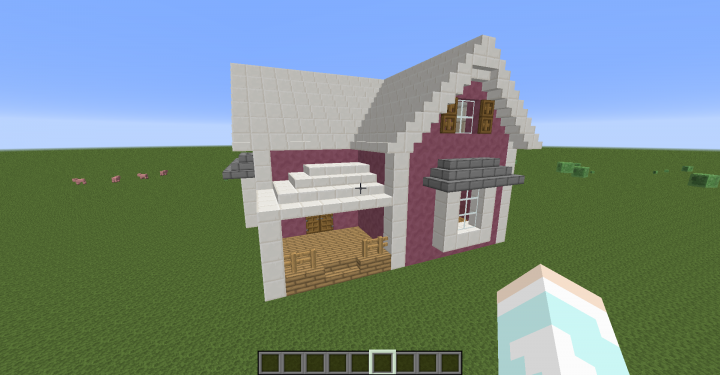 Cute House Design Minecraft Rumah Joglo Limasan Work