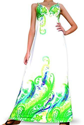 Angela Womens Long Maxi Dress Evening Size Medium 6  8 White Color *** You can get additional details at the image link.