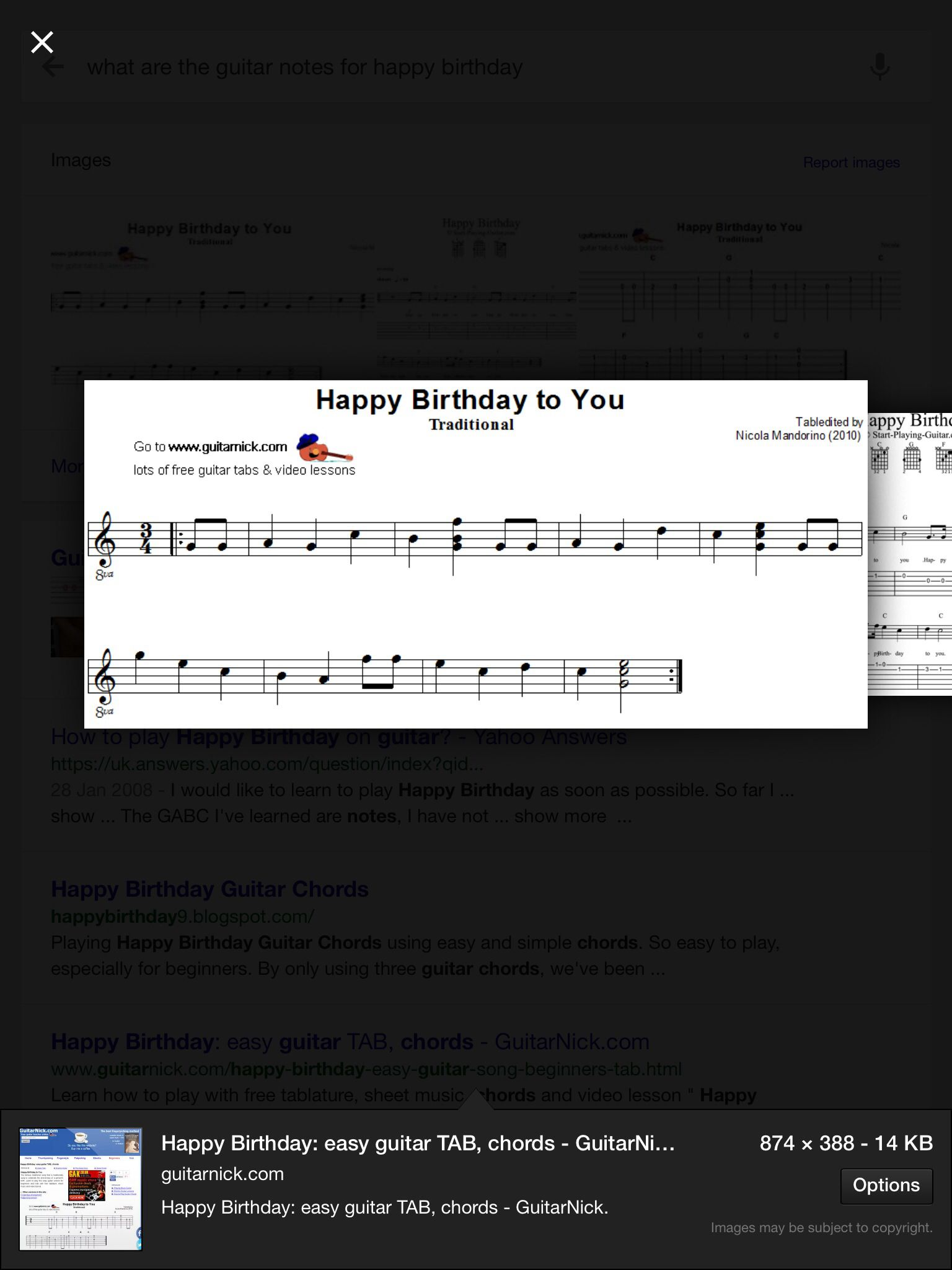 Playing Happy Birthday Guitar Chords Using Easy And Simple