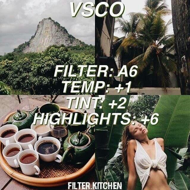vsco tutorial green look | VSCO | Vsco photography, Vsco cam filters