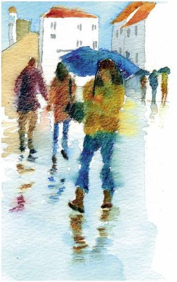 How To Paint A Watercolour Picture That Tells A Story Features Painters Online Watercolor Pictures Painting Art Painting