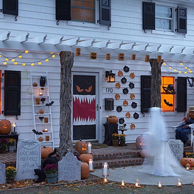 50 Cool Outdoor Halloween Decorations 2012 Ideas Halloween