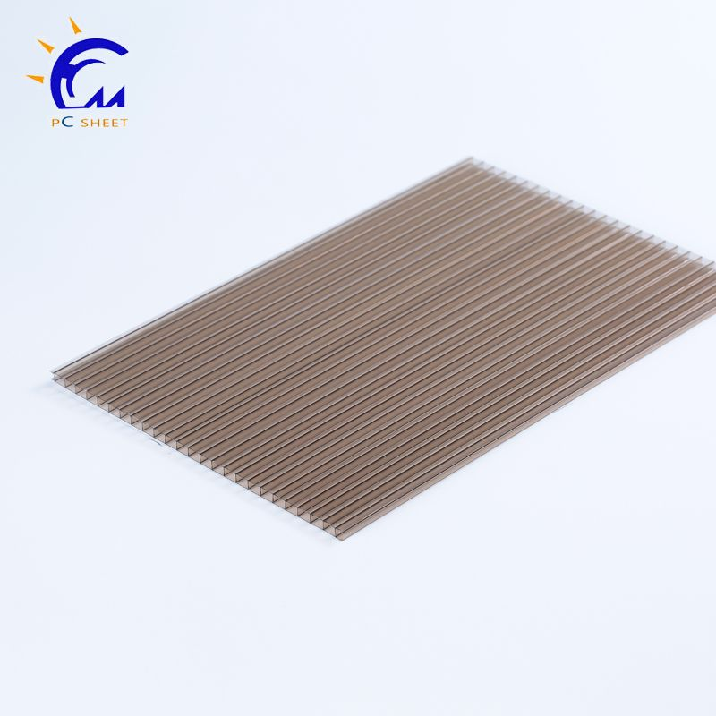 colored hollow reinforce twin wall polycarbonate sheet for ...