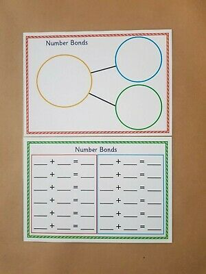 teaching resource,educational numeracy maths Addition to 10 worksheet EYFS
